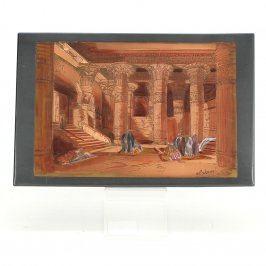 Obraz El-Shami Chrám v Esně