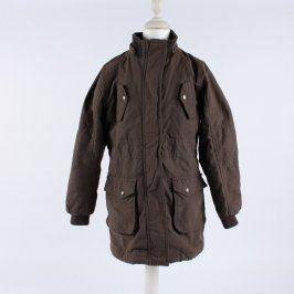 Dětská bunda Alive odstín hnědé