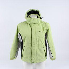 Dětská bunda Alpine Pro odstín zelené