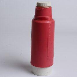 Termoska červeno bílé barvy