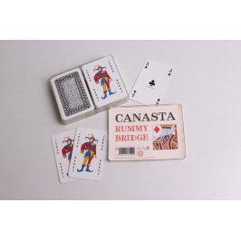 Hrací karty Canasta, Rummy, Bridge