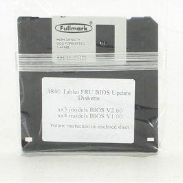 Aktualizace Bios pro Tablet, disketa 1,44 MB