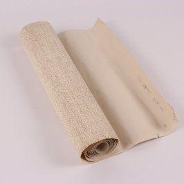 Tapeta béžová se tkaným vzorem 53 x 200 cm