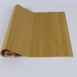 Tapeta na zeď zlatá strukturovaná