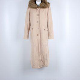 Dámský kabát Odemat Carlo Cecci béžový