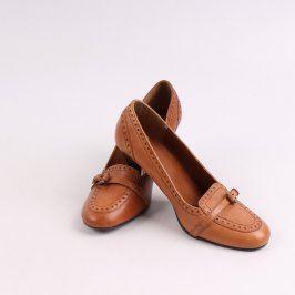 Dámské boty SMH hnědé