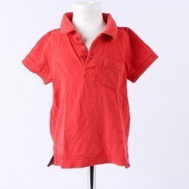 Chlapecké polo tričko Lupilu červené
