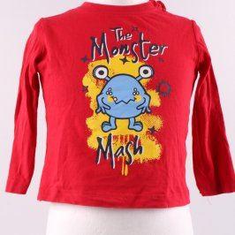 Chlapecké tričko Lupilu červené