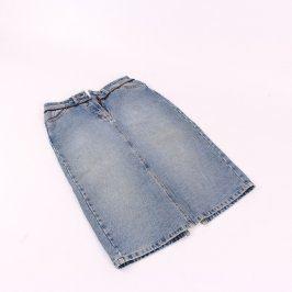 Dámská sukně Mo džínová odstín modré