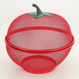 Drátěný koš na ovoce ve tvaru jablka
