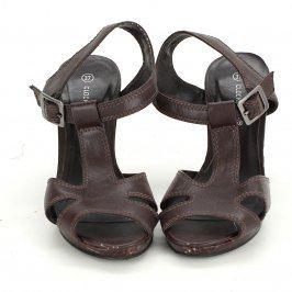 Dámské sandále Clockhouse hnědé
