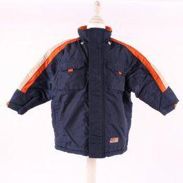 Dětská bunda Adams modrooranžová