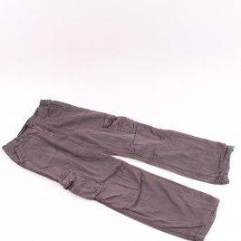 Chlapecké plátěné kalhoty C&A šedé