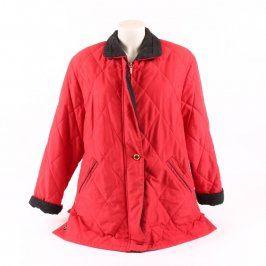Dámská bunda Baronia odstín červené