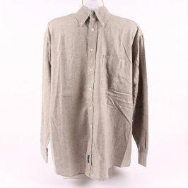 Pánská košile Gant odstín béžové