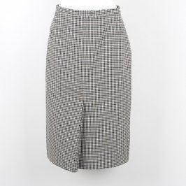 Dámská sukně Pepito úzká černobílá