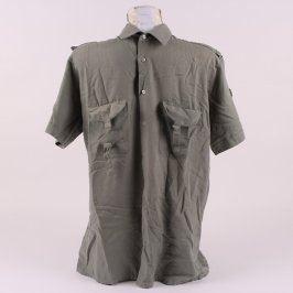 Pánská košile Emilio Perucci odstín zelené