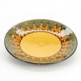 Keramický talíř zavěšovací na stěnu