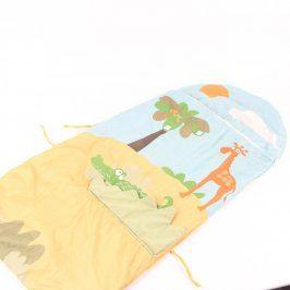 Dětský pytel na spaní s žirafou