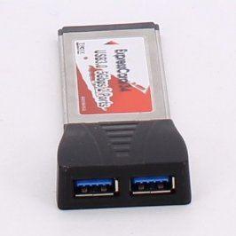Řadič USB 3.0 5-D113-01A ExpressCard/34