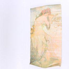 Plakát Alfons Mucha: Dívka