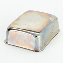 Kovová miska/poklop na máslo