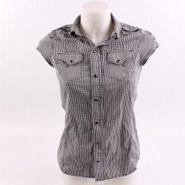 Dámská košile G-Star Raw bílo černá