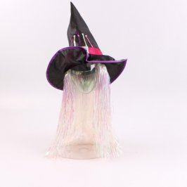 Čarodějnický klobouk Tesco černý