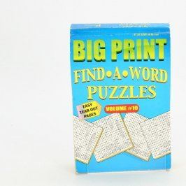 Sada osmisměrek Big Print Find A Word Vol.10