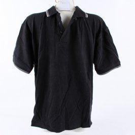 Pánské polo Clique černé barvy