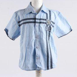 Chlapecká košile Rebel modrá s pruhy