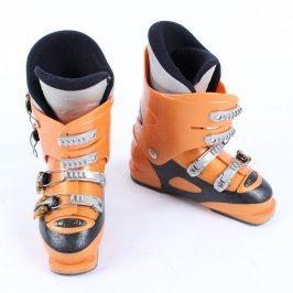 Lyžařské boty Rossignol oranžovočerné