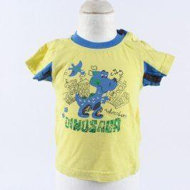 Dětské tričko Baby žluté s obrázkem