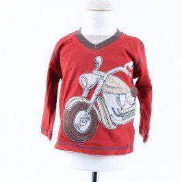 Chlapecké tričko George červené s motorkou