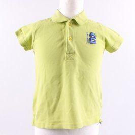 Dětské polo tričko Lupilu zelené