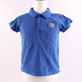 Dětské polo tričko Lupilu modré