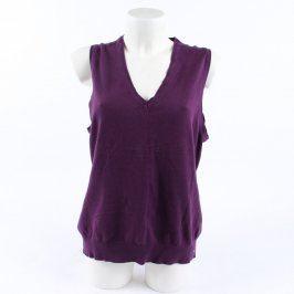Dámská svetrová vesta s.Oliver fialová