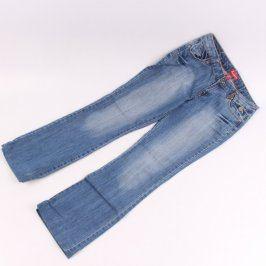 Dámské džíny L&VE odstín modré