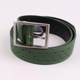 Dámský pásek Reserved kožený zelený