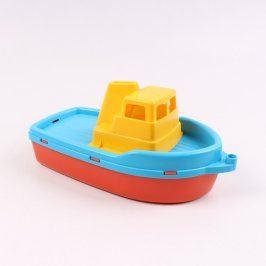 Loď Androni Giocattoli barevná plastová