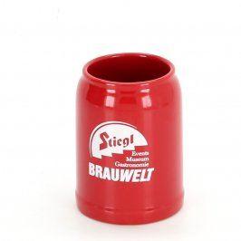 Hrníček Stiegl Brauwelt červený