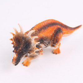 Figurka plastový rezavý triceratops
