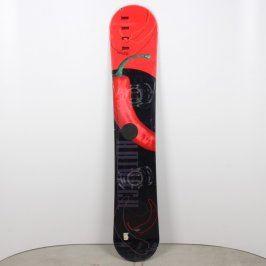 Snowboard Hack pánský černočervený