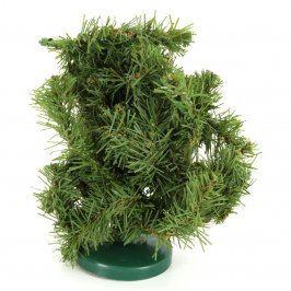 Vánoční stromek miniaturní umělý 20 x 18 cm