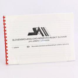 Příručka SL-AJ-NJ-RJ slovník