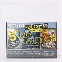 Score DVD Arcania, Lara Croft