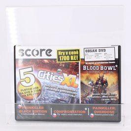 Score DVD Cities XL, Blood Bowl, Painkiller
