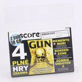 Score DVD Border Zone, Memento mori, Gun