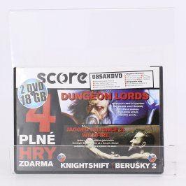 Score DVD Dungeon lords a další