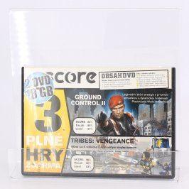 Score DVD Ground control II a další